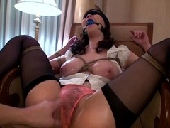 Girl Tied Up and Played With
