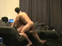 Cuckold hubby fantasy come true hotwife fucked into ass by BBC