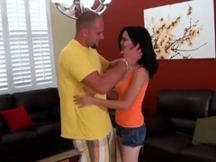 Jmac and sexy young brunette Latina Flor from the Cuba