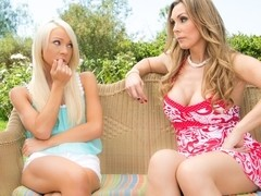 Tanya Tate & Katerina Kay in Caught Smoking Video