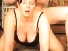 Hot black brown mother i'd like to fuck screwed on the floor