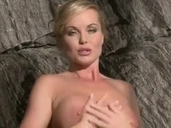 Silvia Saint Fingering Pussy in Shower