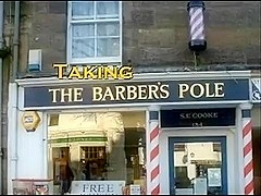 Taking the Barber's Pole