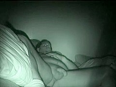 cheating wife caught nightvision spy