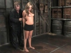 Carmen McCarthy in 18 Year Old Carmen Mccarthystruggles With Her First Ever Bondage Experience. - .