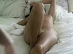 Fucking my girl on the bed