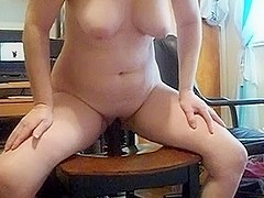 Wife riding her BBC and LOVING it