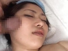 Lustful Japanese Wives Massaged and then Drilled at Home three - CM