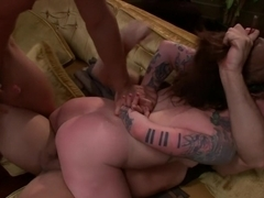 Vivienne Del Rio Fulfills her Fantasy of Being Physically Overpowered and Fucked in Every Hole