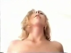 two cumshots on her ass