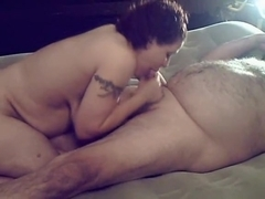 large alluring woman sucks until this honey gets gratified