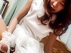 Horny Japanese whore in Best JAV uncensored Stockings scene