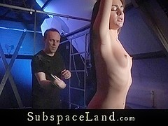 Teeny trained and tamed in bondage