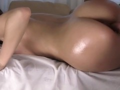 Briana is with dick in mouth and cunt while hot massage