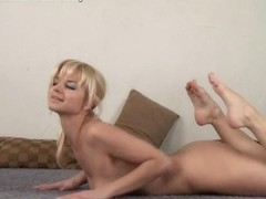 Regina Strekoza - Gymnastic Video part 2