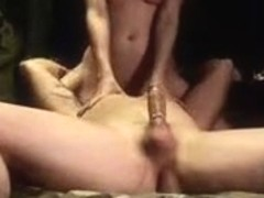 Taut body girlfriend sitting on his face and getting licked