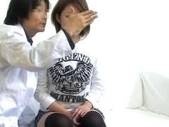 Sex video with japanese patient drilled hard by veiny cock