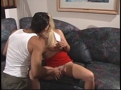 Hawt blonde acquires her constricted slit stretched