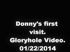 Donny. First visit to a gloryhole. 01/22/2014
