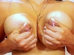 Sexy Colombian Latina With Big Ass and Milking Tits