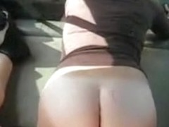 Fucking my girl in the car
