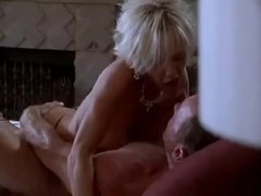 Blonde milf does anything for his cock
