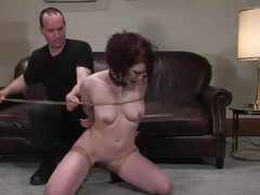 Casting Couch 10: Carmen Stark auditions for Hogtied