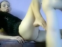 Wife servcies her boy-friend's knob and receives drilled