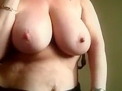 Getting excited in my hot big tit amateurs clip
