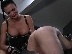 BDSM XXX Silent hooded slave receives brutal treatment