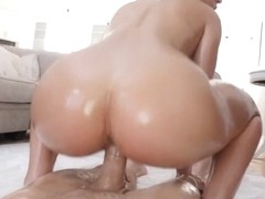 Abella Danger in Booty Oil - Lubed