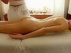 HD sex clip with erotic massage