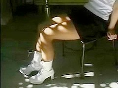 Fetishism - Girl of white boots