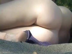 Amazing beach girl got a hot body