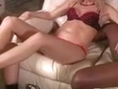 Crazy Foot Job, Interracial xxx clip