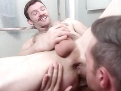 Big dick gays flip flop with cumshot