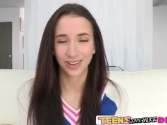 Belle Knox pussy slammed by a big dick