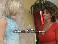 Deauxma & Angela Stone in Lesbian Seductions #17, Scene #04