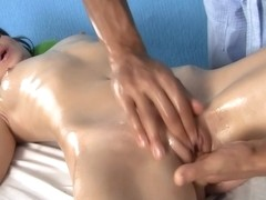 Massage ended Hardcore sex