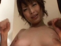 Incredible Japanese model Nana Natsume in Amazing Big Tits, Handjob JAV movie