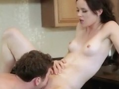 Jenna Ross Gets Fucked In The Kitchen