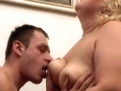Juicy fat mature wife cheat with younger lover