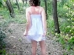 danielle naked and fucking outdoors