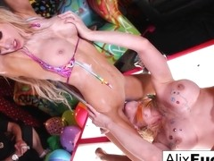 Alix Lynx  Jenna J. Ross in Bath Tub Lesbians, Make Each Other Orgasm - AlixLynx
