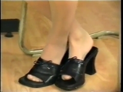 Nylon feet and shoes 2