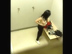 Hot amateur chicks voyeur dress room video