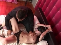 Misha Cross loves to be treated rough