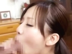 Incredible Japanese girl Aozora Konatsu in Amazing Blowjob, Couple JAV clip