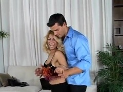 Latina milf Barbara seduces young slud Ramon