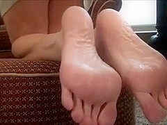 young girl lick mature feet